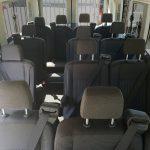 15 Passenger Ford Transit High Top Interior
